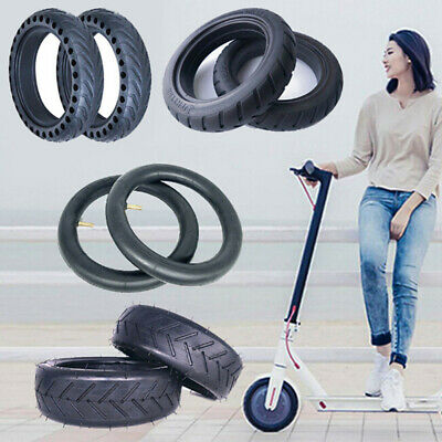 For xiaomi M365 Electric Scooter 8 1/2x2 Solid Outer Tire Wheel Inner Tube.