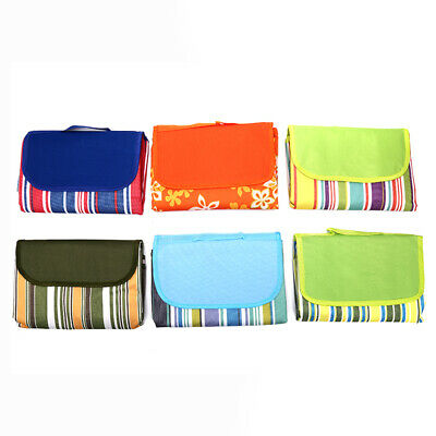 Waterproof Oxford Cloth Outdoor Picnic Blanket Portable Folding Color Beach.