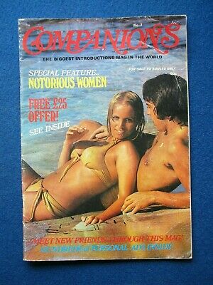 Companions Dating Magazine - # 3 - 1977  Mary Millington 3 page article