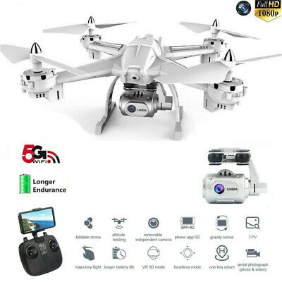 Global Drone S5 5.8G 1080P WiFi FPV Camera Quadcopter Dron Aircraft New 2019