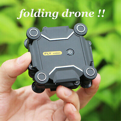 Mini RC Drone FPV Selfie Foldable 2.4G Quadcopter With Remote Controller WiFi