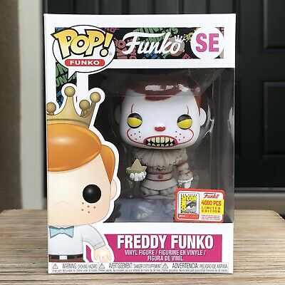 Funko Pop! Pennywise Freddy Funko 4000 PCS SDCC Exclusive IT