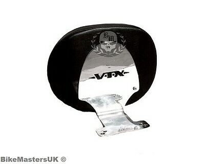 Honda Vtx 1800 Vtx1800 Retro Stainless Steel  Driver Rider Backrest