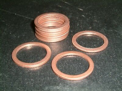 M20 Copper Washers- Choose from 2 sizes