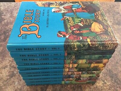 10v Arthur Maxwell The Bible Story Complete 1970/71  EXC Beautifully illustrated