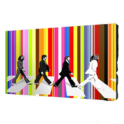 30X20 Inch THE BEATLES Abbey Road Stretched Canvas 76x50cm