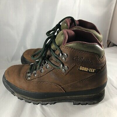 7099c49ef14 CABELA'S RIMROCK GORE-TEX Hiking Trail Hunting Brown Boots Women's ...