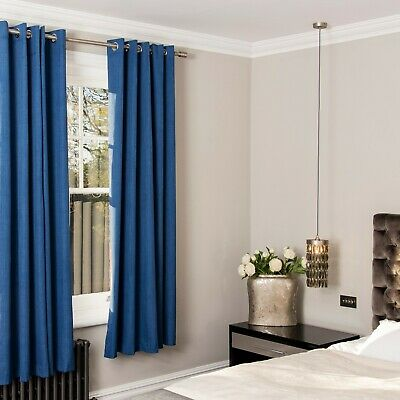 Curtains Blackout  pair of magnetic style by Stanley Hamilton