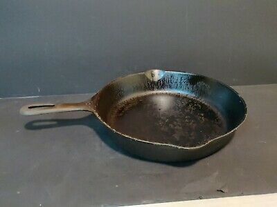 """Wagner Cast Iron Skillet Pre Seasoned #8 10.5"""" Stove Oven Fry Pans Cookware Set"""