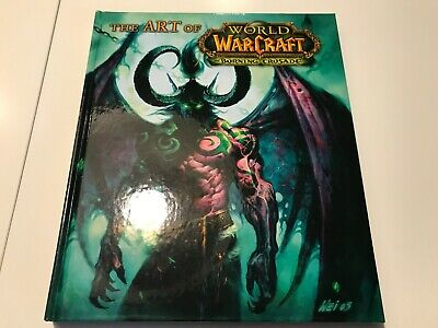 The Art of World of Warcraft: The Burning Crusade Hardcover Book