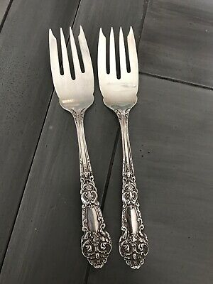 REED /& BARTON FRENCH RENAISSANCE STERLING SILVER DINNER FORK EXC COND S