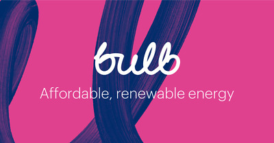 £75 credit when you switch to BULB (no contract) - LIMITED OFFER