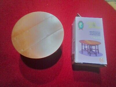 Vintage Marx Little Hostess Round Dining Table miniature Furniture doll house