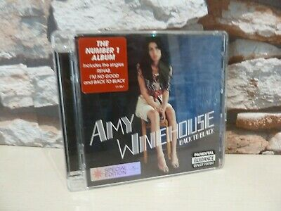 Amy Winehouse Back To Black Special Edition Cd Album  -  Fast/Free Posting.