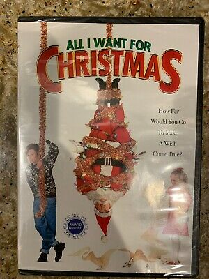 All I Want for Christmas (DVD, 2004, Widescreen Collection) Sealed NEW