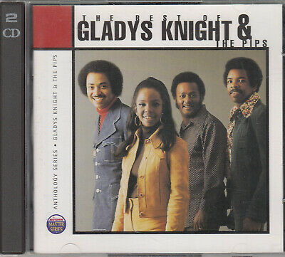 The Best Of Gladys Knight & The Pips (2 CDs), gratis dazu 1 x Gladys Knight solo
