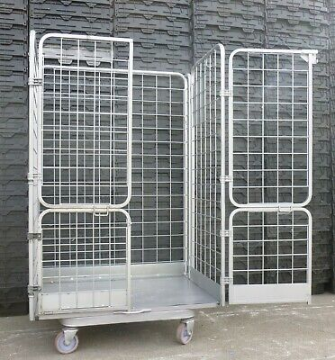 4-SIDED JUMBO ROLL Cages - Roller Containers  Warehouse