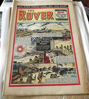 The Rover comic No. 1569 July 23rd 1955