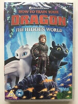 HOW TO TRAIN YOUR DRAGON : THE HIDDEN WORLD DVD (2019) : New & Sealed