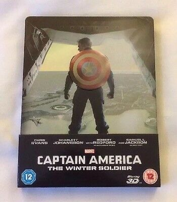 Captain America 2 - The Winter Soldier - Limited Edition Steelbook & J Card Rare