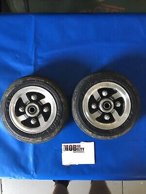 auto go prestige mobility scooter Parts  Front Wheels And Tyres