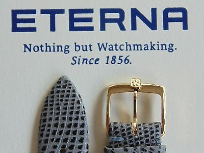 Nos Vintage Eterna Gold Buckle Only For Watch Band Watchband Strap No Packaging