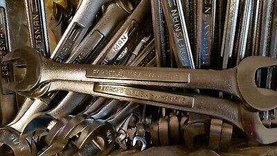 NOS Craftsman Made in USA Double Open End wrenches, pick size, Std and Met sizes