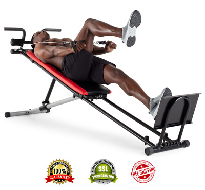 TOTAL GYM EXERCISE Equipment Body Weight Strength Trainer Home