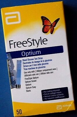 Freestyle  Optium    50 Tiras Reactivas