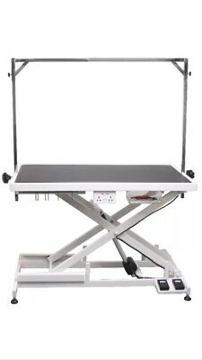 Aeolus New Improved Electric Ultra Extra Low Dog Grooming Table.
