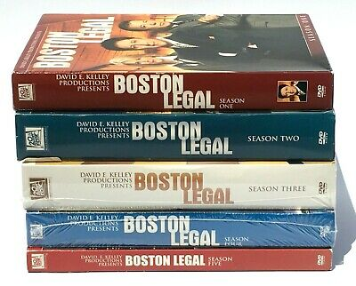 Boston Legal: The Complete Series Seasons 1-5  (DVD, 2017,28-Disc Box Set)