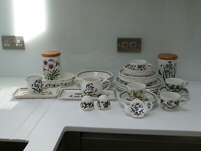 Portmeirion Botanic Garden dinner set