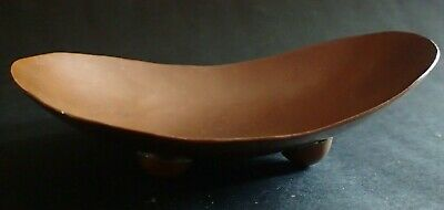 Antique ARTS AND CRAFTS Hammered Copper Soap Dish / Holder.