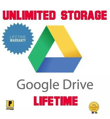 Google Drive Unlimited Space Added To Existing Account - CHEAP AND FAST