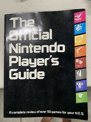 The Official Nintendo Player's Guide 1987    90 game reviews  SHIPS FOR FREE