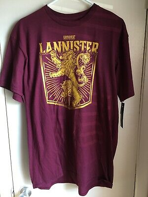 Game of Thrones House of Lannister Official HBO Licensed Graphic T-Shirt