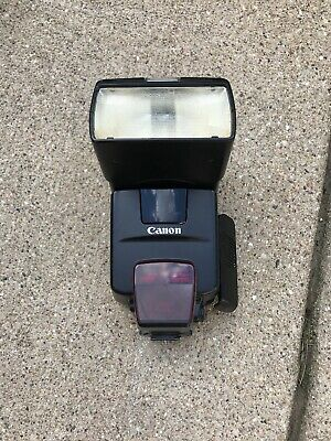 Canon Speedlite 550EX Shoe Mount Flash for Canon