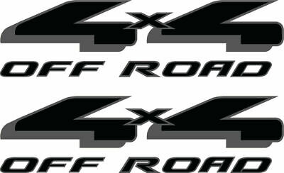 FBLK truck side offroad 2004-2008 Ford 4x4 Off Road Decals Stickers set