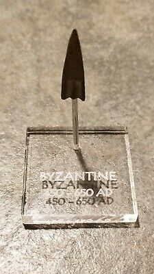 Ancient Early BYZANTINE Trilobate ARROWHEAD Display,  450 - 650 AD (#3)