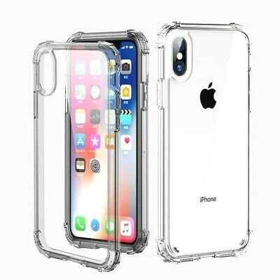 Case and 1PK Screen Protector for iPhone XR X, Xs Max 6 6S 7 Plus 8 Plus Clear