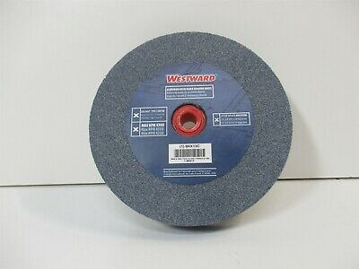 """60 Grit 6"""" Aluminum Oxide Straight Grinding Wheel 1"""" Thick 1"""" Arbor 4140 Max RPM"""