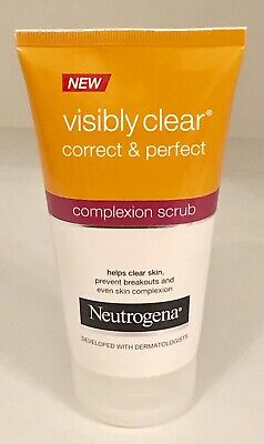 Neutrogena Visibly Clear Correct and Perfect Complexion Scrub 150 ml