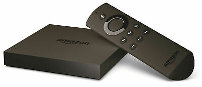 Amazon Fire TV 2nd Generation Model-DV83YW w/ Remote and Power Supply