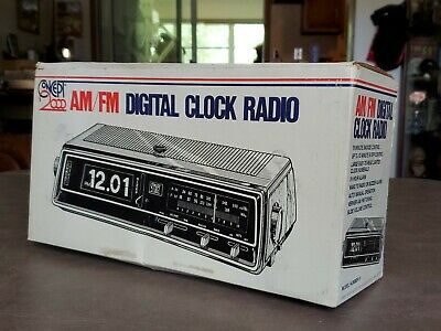 Vintage Nos In Box Digital Flip Clock Concepts 2000 Model 51