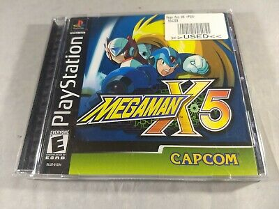 MEGA MAN X5 (Sony PlayStation 1, 2001) PS1 Complete TESTED