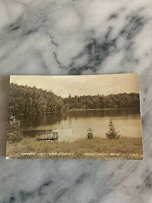 VINTAGE RPPC POSTCARD Lake Arrowhead California 1945 Posted The