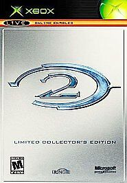 Halo 2: Limited Collector's Edition (Microsoft Xbox, 2004) STEELBOOK - VERY GOOD