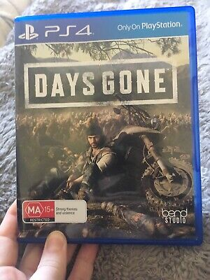 Days Gone PS4 game preowned, as new condition