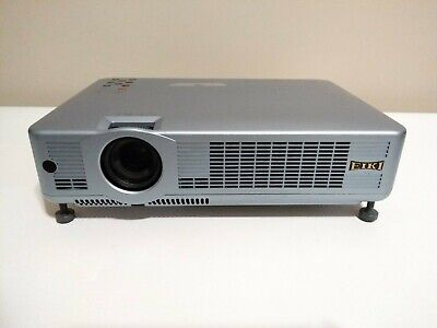 Eiki LC-XB31 2,500 Lumens LCD Projector With Remote! Barely Used! Only 134hrs!