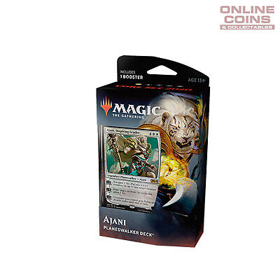 Magic The Gathering Core 2020 Planeswalker Deck Ajani Inc 1 x Booster